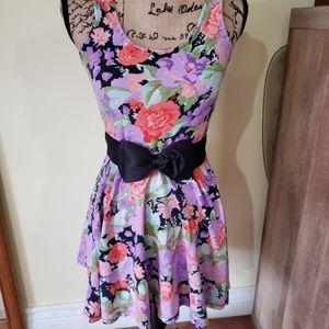 F21 Floral Tank Top Dress